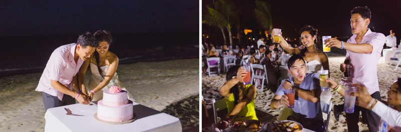 My-Phuong & Andy Wedding Cancun Mexico