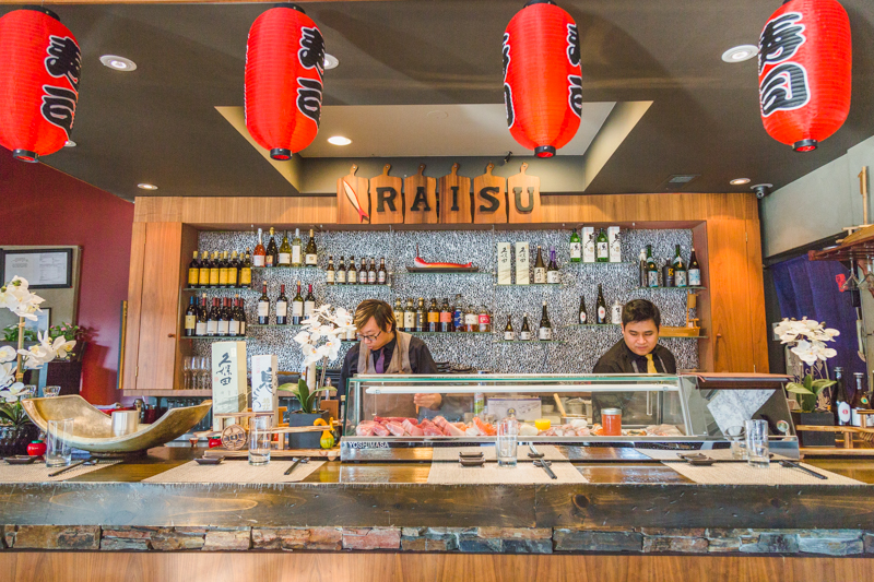 Raisu Sushi Restaurant Irving Park Chicago Food Photographer Erica Kohagizawa