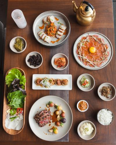 girin korean ssam bar seattle wa