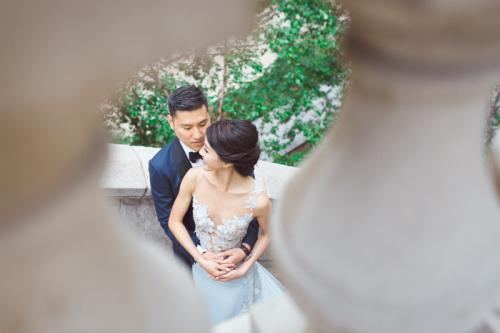 Brandon & Xu Yan Chicago IL Wedding Portraits